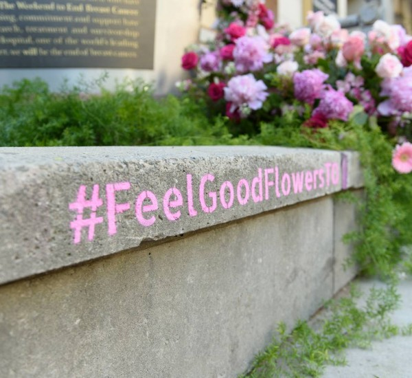 Feel Good Flowers: Symbols of Hope, Expressions of Thanks for Toronto Hospitals
